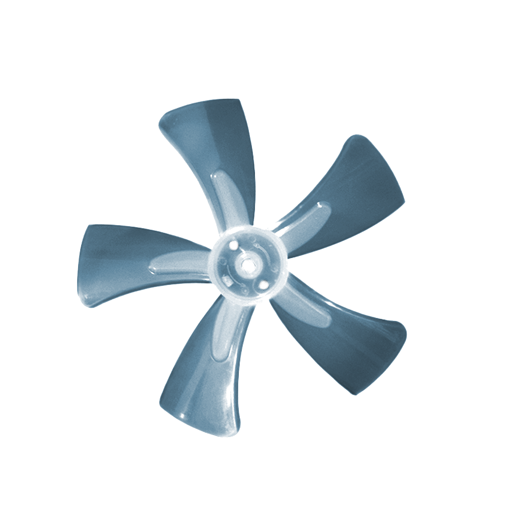 Ventilador Azul