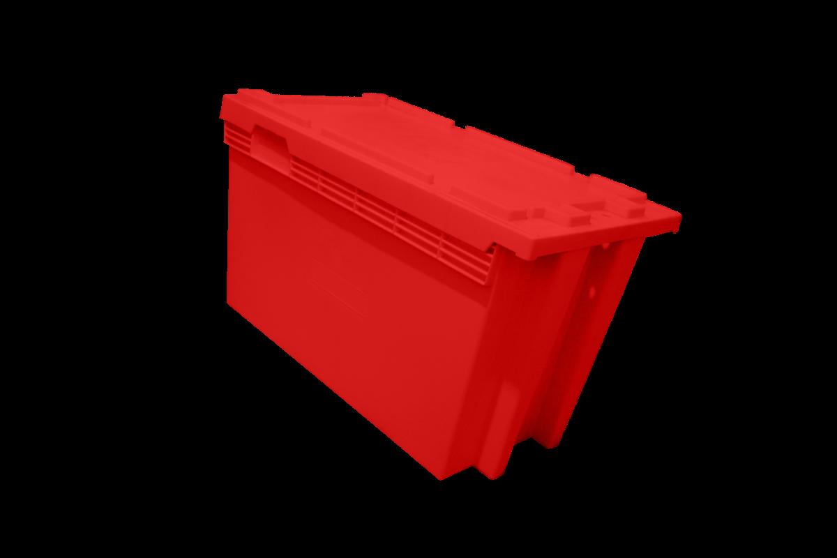 Caixa Lacrável Vermelha GD