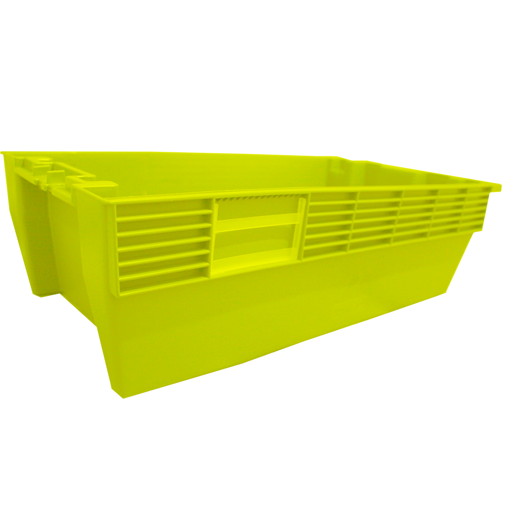 Caixa Lacrável Amarela PQ