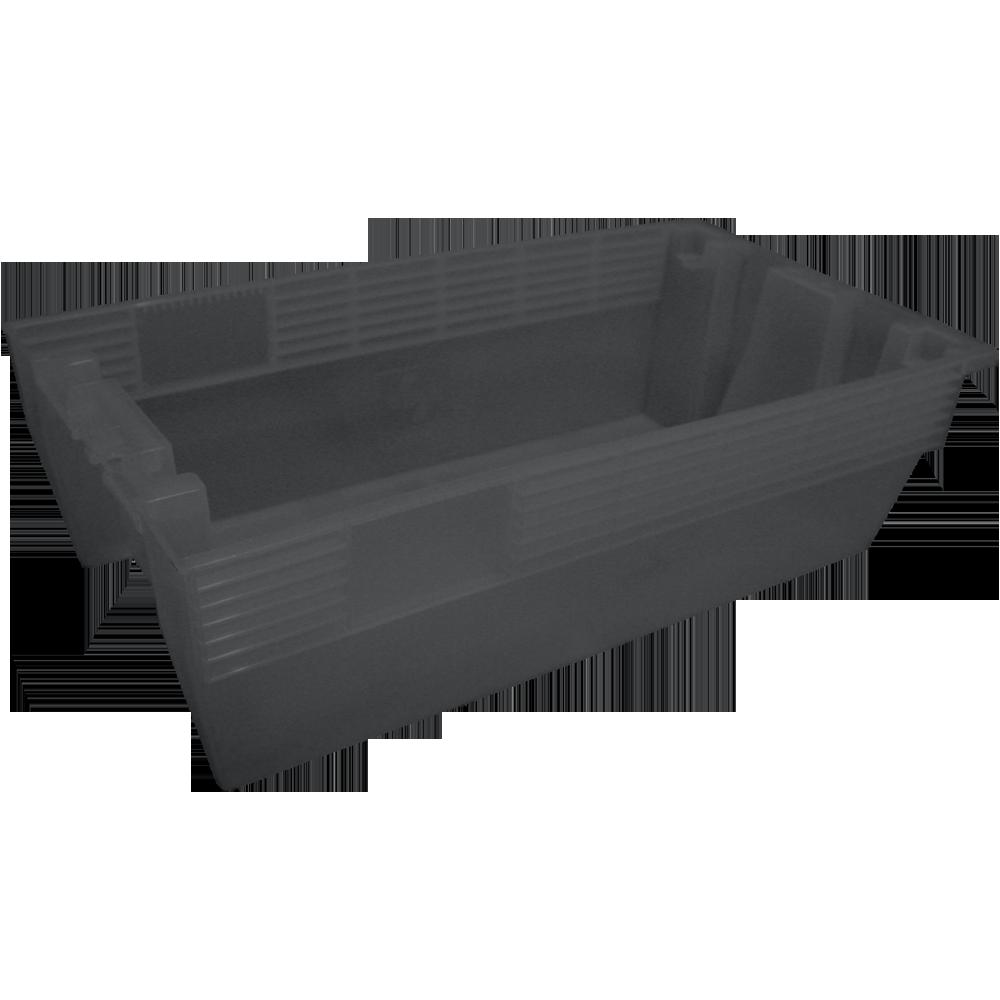 caixa-lacravel-pequena-empilhavel-cinza-injecao-de-plastico-b-6