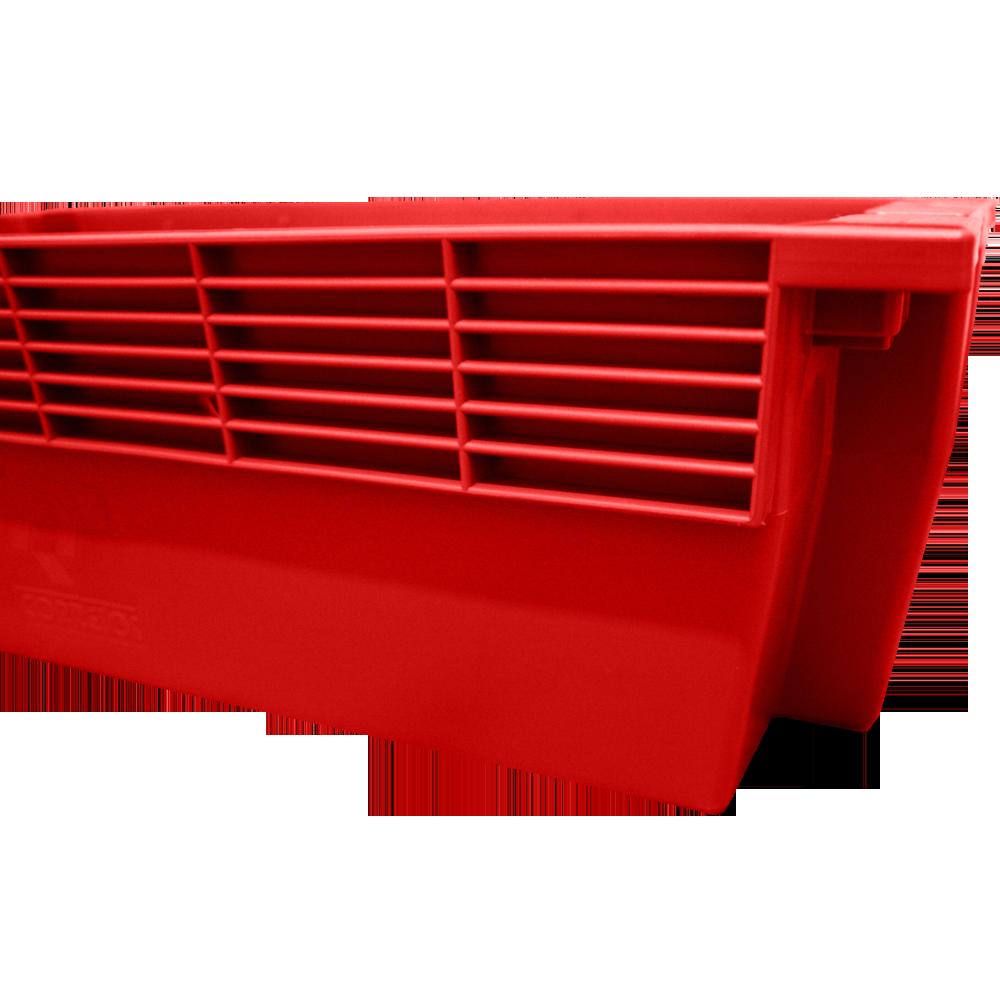 Caixa Lacrável Vermelha PQ