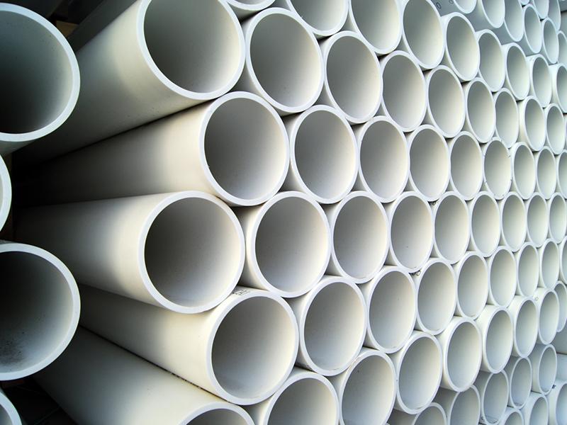 Plásticos usados na construção civil