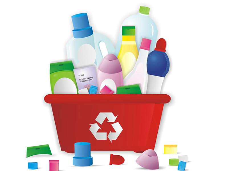 Reciclagem de plástico: transformando resíduos em produtos