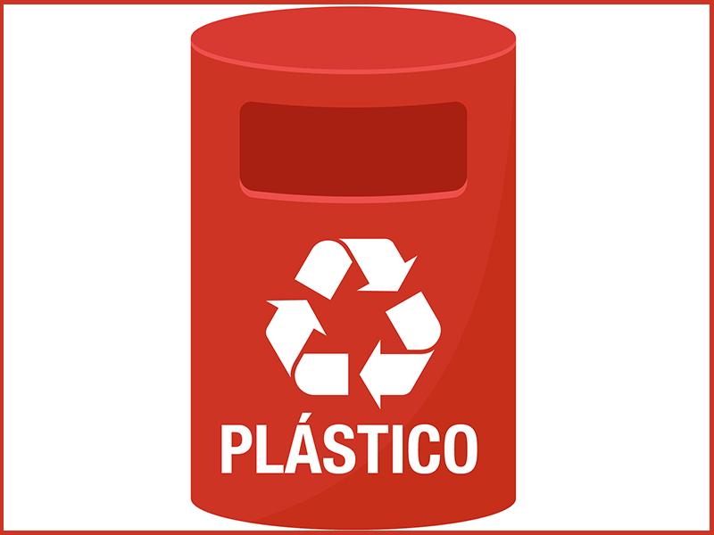 Reaproveitamento de plástico