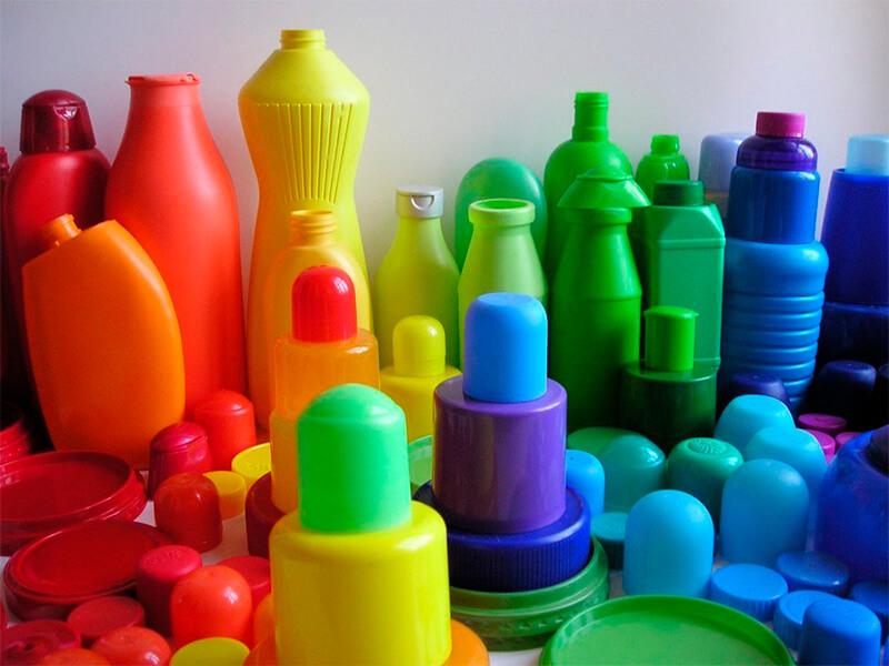 A origem do plástico