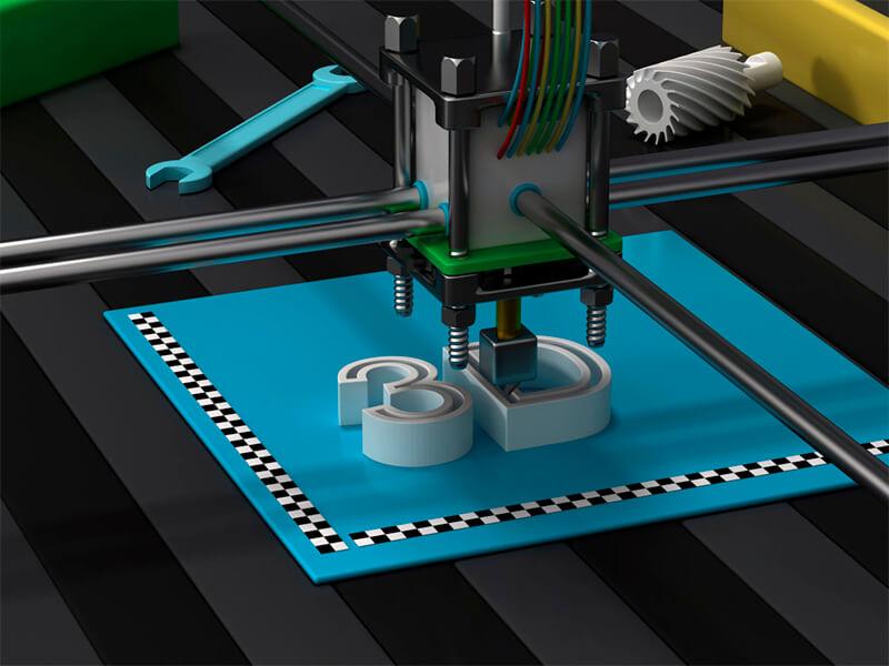 A impressora 3D e a indústria do plástico