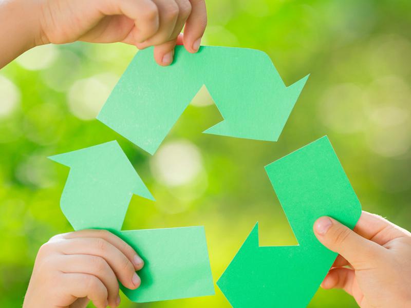 Reciclagem de plástico = sustentabilidade e economia!