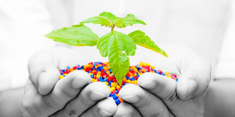 Plástico = versatilidade e menos impacto ambiental
