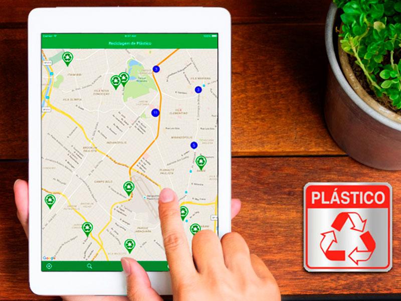 Aplicativo estimula a reciclagem