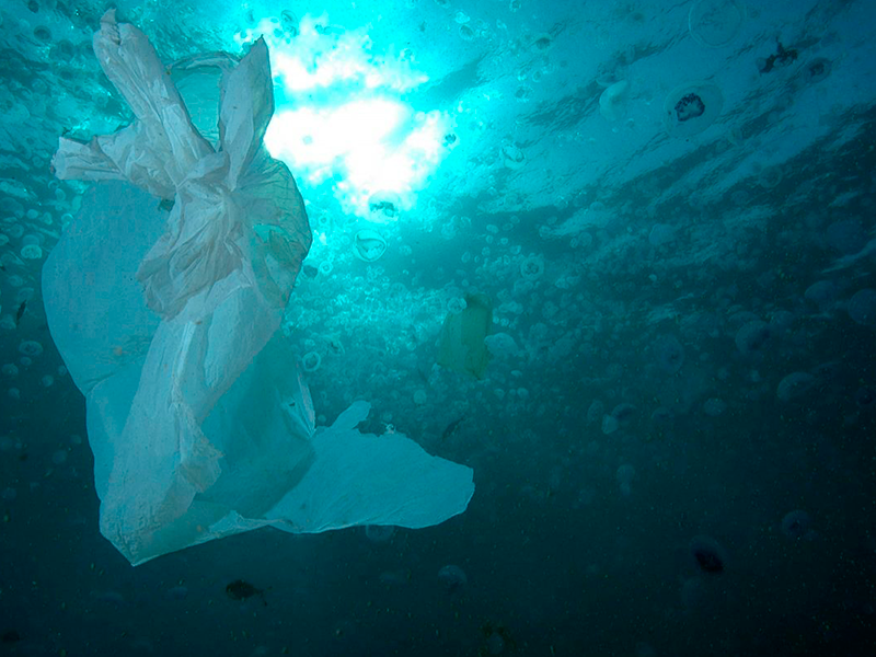 """O Ártico está virando um """"aterro marinho"""" de lixo plástico"""