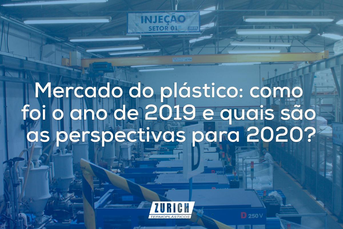 Mercado do plástico: como foi o ano de 2019 e quais são as perspectivas para 2020?