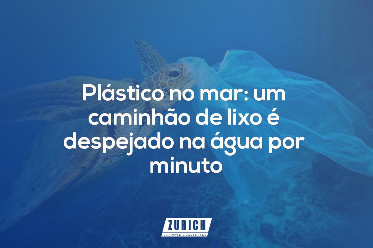Plástico no mar: um caminhão de lixo é despejado na água por minuto