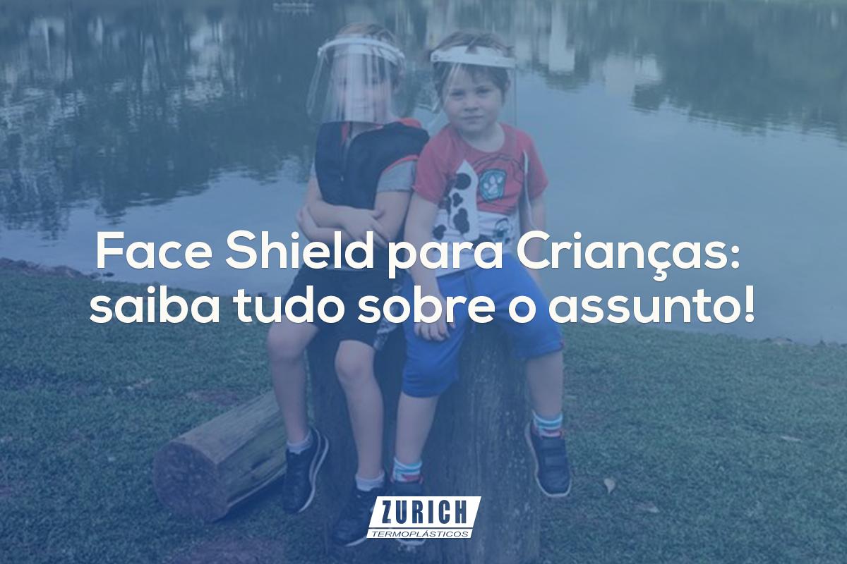 Face Shield para Crianças: saiba tudo sobre o assunto!