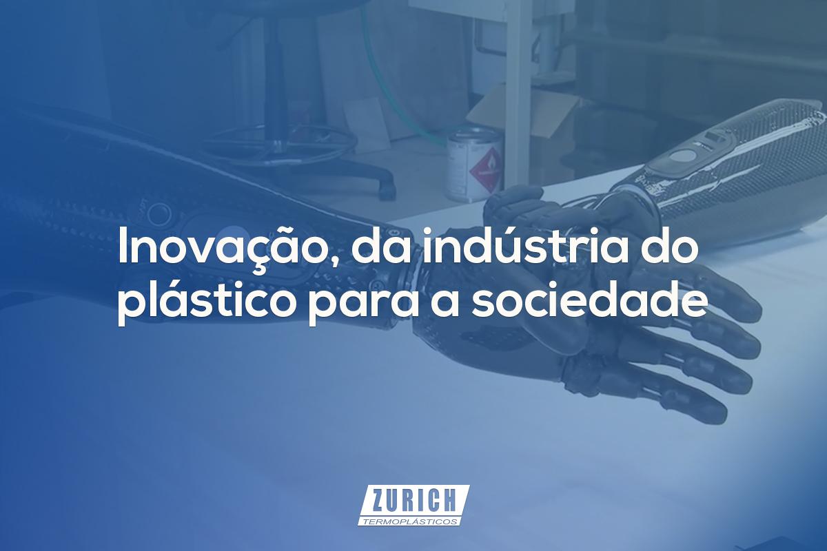 Inovação, da indústria do plástico para a sociedade