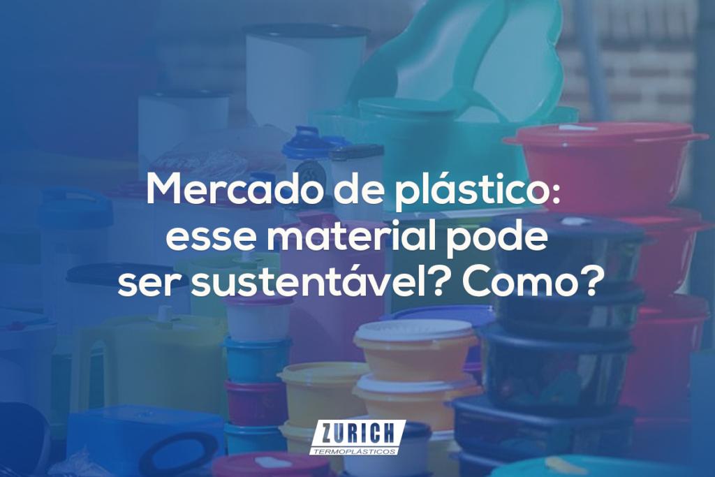 mercado de plástico