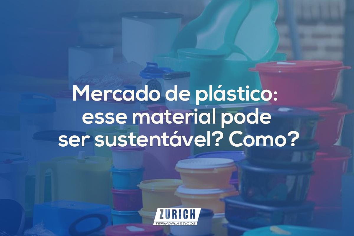Mercado de plástico: esse material pode ser sustentável? Como?